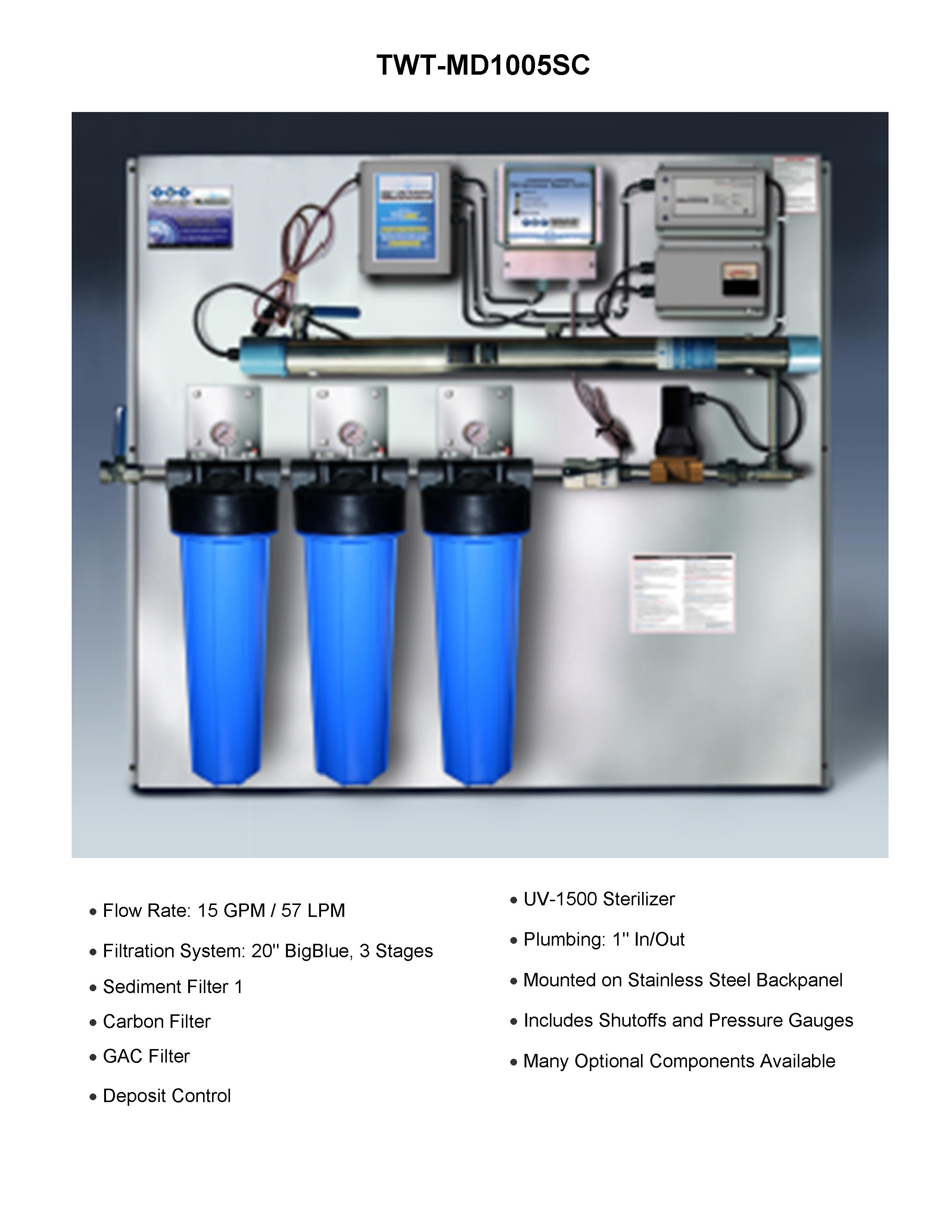 15gpminter 30gpminter - Commercial Water Filtration System